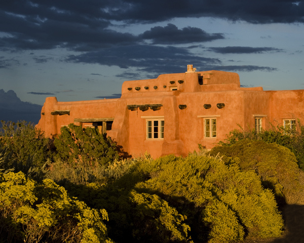 Sunset at the Painted Desert Inn